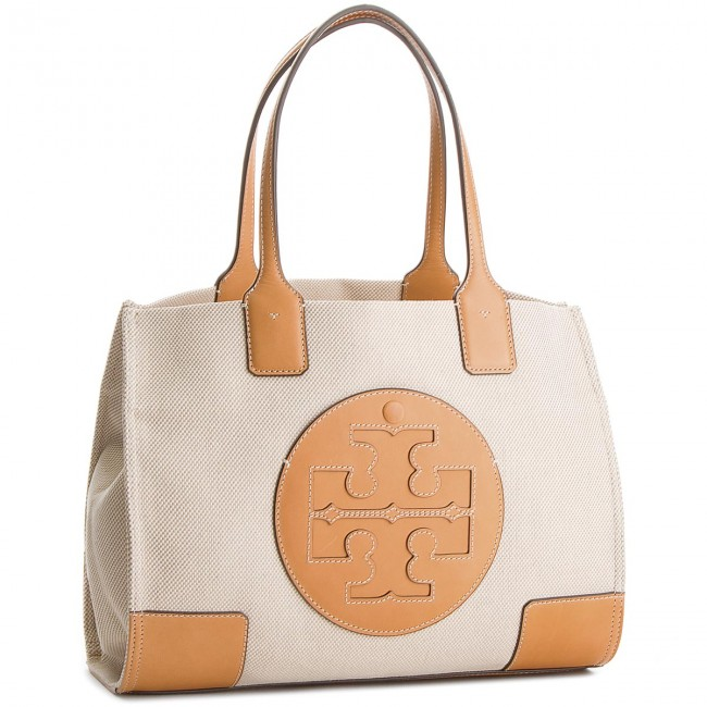 4bbefc736 ... where to buy handbag tory burch ella canvas mini tote 45208 natural  ivory 285 1b8b8 17e5e