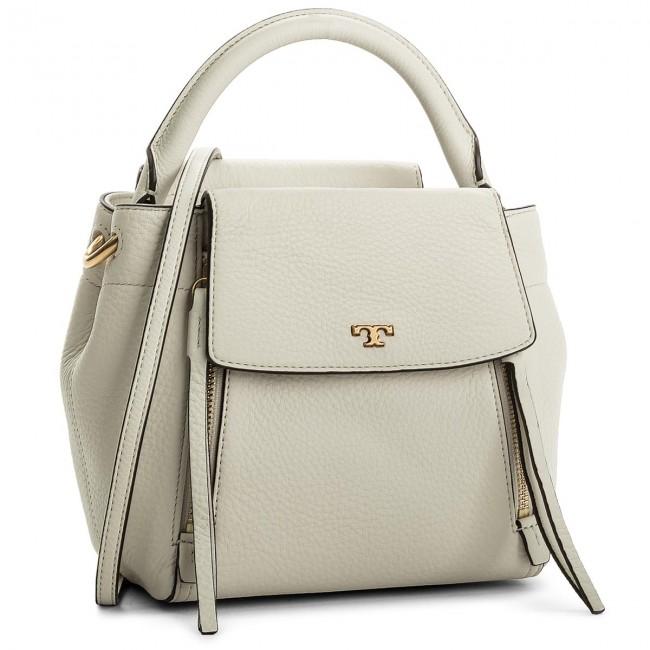 e00fcdf1567c Handbag TORY BURCH - Half-Moon Cross-Body 45217 Birch 107 - Classic ...