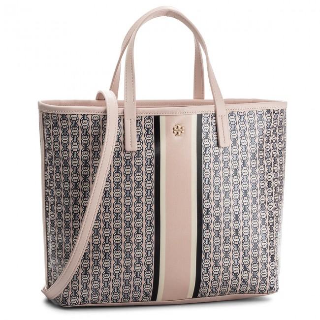 76f82dee11af Handbag TORY BURCH - Gemini Link Small Tote 43896 Pink 655 - Classic ...