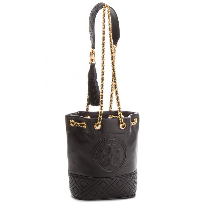 ebc6594d739b Handbag TORY BURCH - Fleming Mini Bucket Bag 49321 001 - Bags ...
