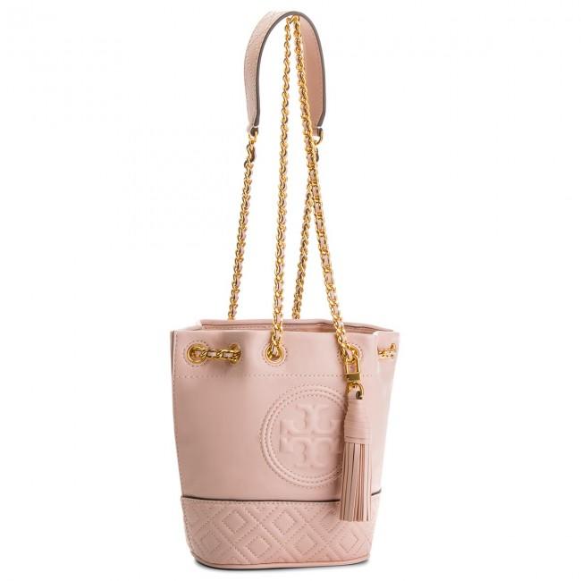 59bf32f20a3e Handbag TORY BURCH - Fleming Mini Bucket Bag 49321 Shell Pink 652 ...