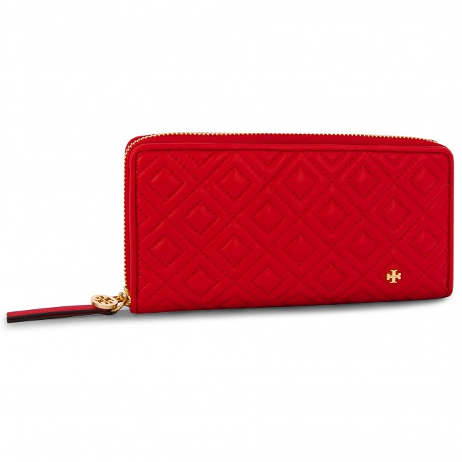 88b261db26cd Large Women s Wallet TORY BURCH - Fleming Zip Continental Wallet 46542  Brilliant Red 612