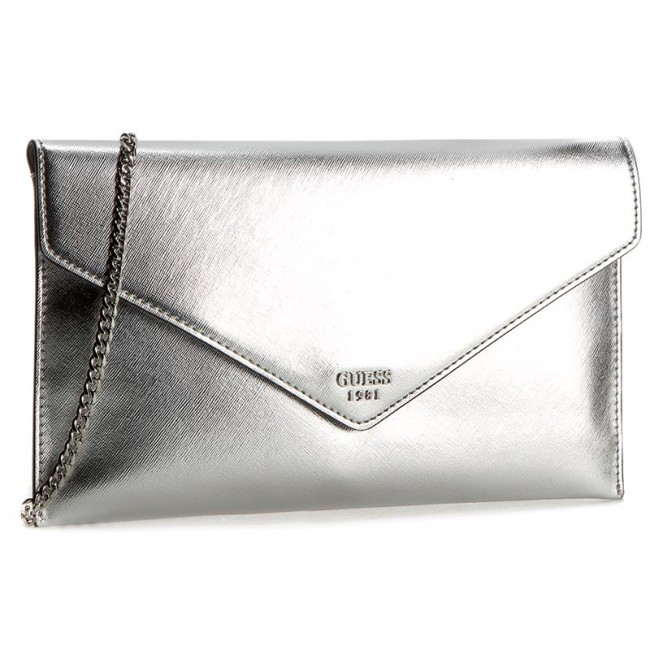668cca17297a Handbag GUESS - Love Beat (ME) Evening Bags HWME65 42270 SIL ...