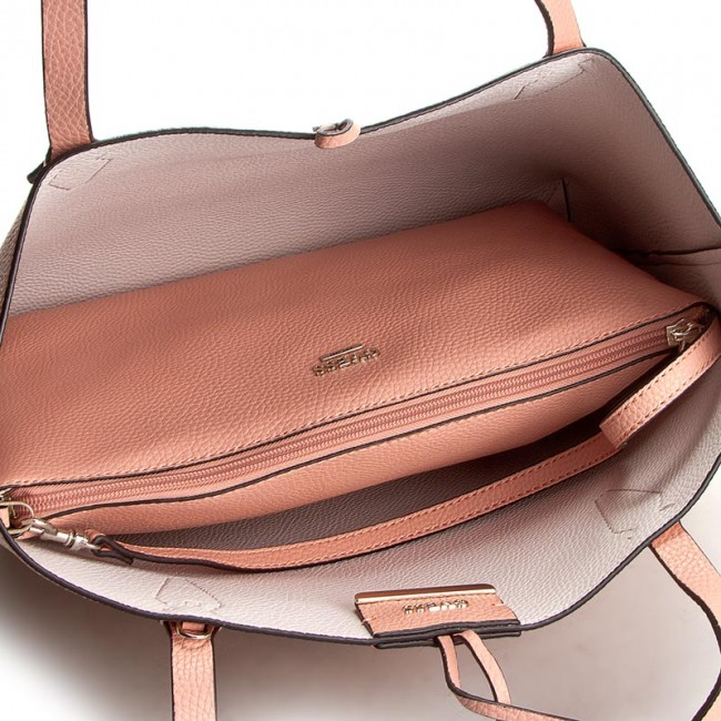 Handbag GUESS - Bobbi Inside Out Tote HWVG64 22150 PCM - Classic - Handbags  - www.efootwear.eu 74b49e44ce9