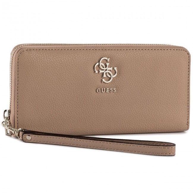 Large Women s Wallet GUESS - Slg Recap SWVG68 53460 TAN - Women s ... 88a5c60c0d0
