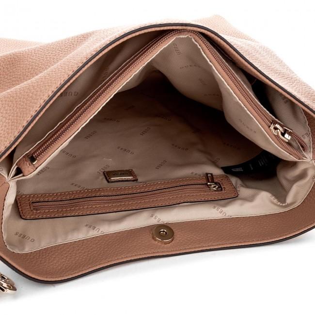 415b401b1a Handbag GUESS - Lou Lou (VG) HWVG69 55020 TAN - Classic - Handbags -  www.efootwear.eu