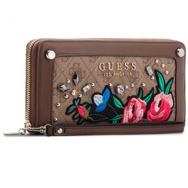 Large Women s Wallet GUESS - SWSG69 92460 BRO - Women s wallets ... 7ac624c9d28