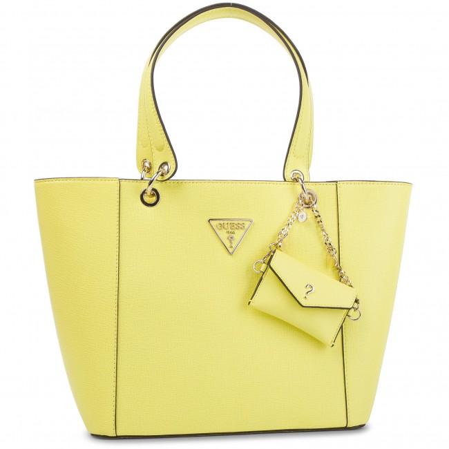 57b847188b Handbag GUESS - Kamryn (CP) HWCP66 91230 YEL - Canvas Totes ...