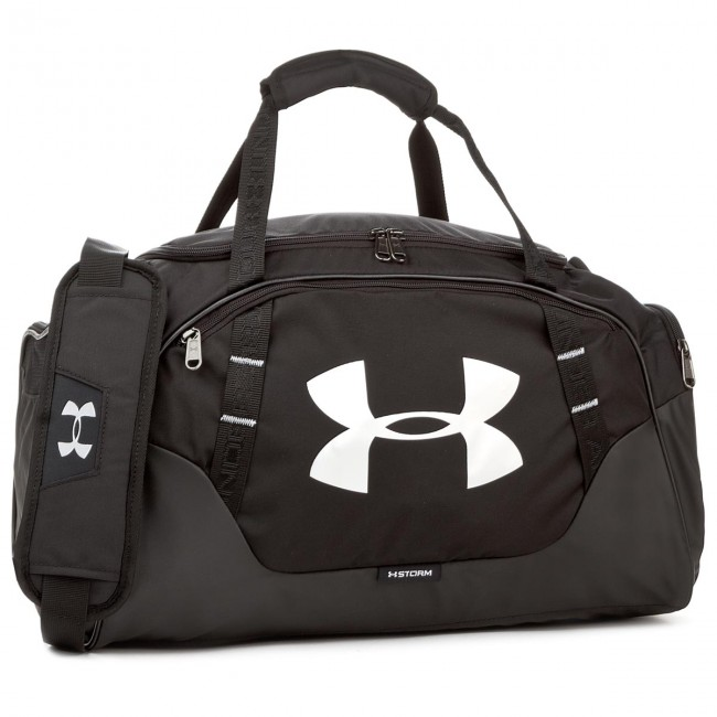 Bag UNDER ARMOUR - Undeniable Duffle 3.0 1300214-001 Sm Blk Blk Slv ... f695ef677f
