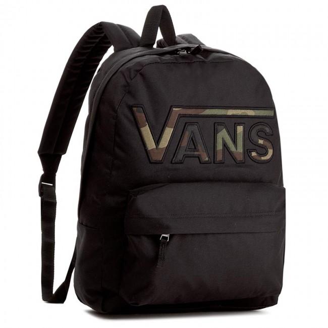 bc4d787db3b7 Backpack VANS - Realm Flying V Ba VN0A34GHBLR Black Camo 000 ...