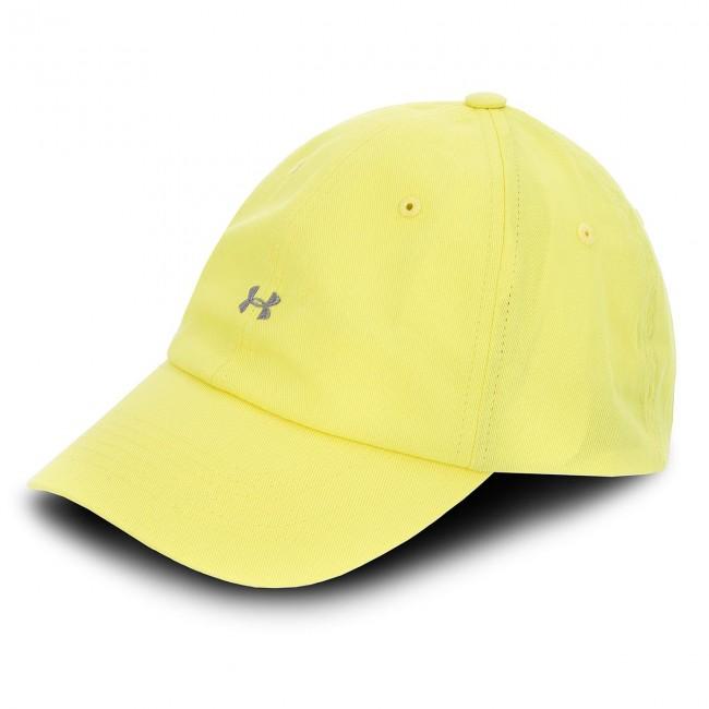 Cap UNDER ARMOUR - Favorite Logo Cap 1306295-159 Yellow - Women s ... 57e6c3167cc