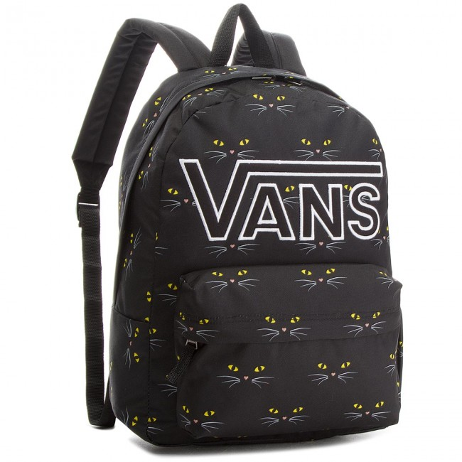 Backpack VANS - Realm Flying V VN0A34GHP21 Black Cat - Sports bags ... 96b3d99e0eac3