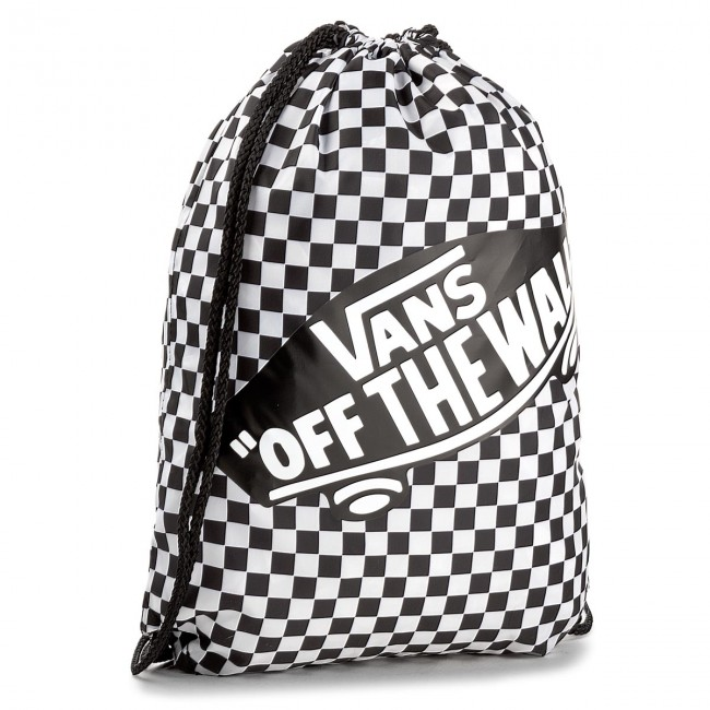 257fa749b6 Backpack VANS - Benched Bag VN000SUF56M Black White - Sports bags ...