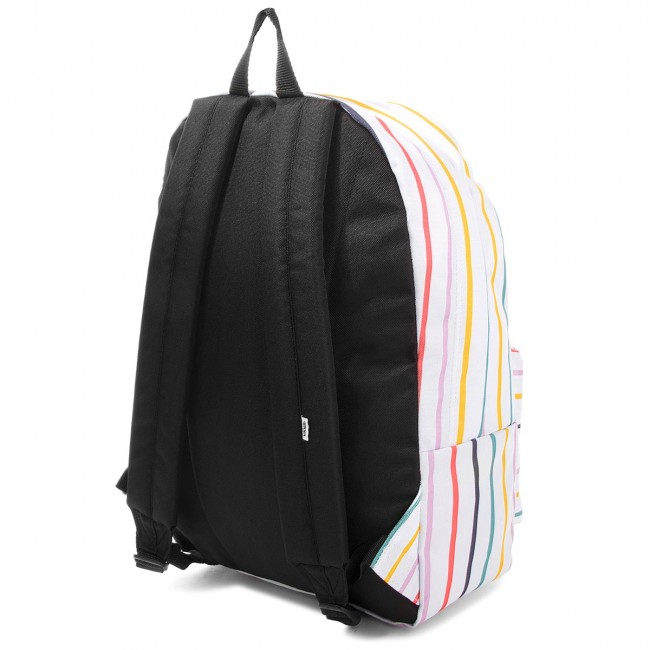 Backpack VANS - Realm Backpack VN000NZ0RHQ Party Stripe - Sports ... 25ab332e5e8
