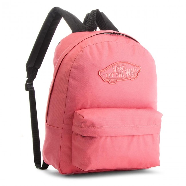 Backpack VANS - Realm Backpack VN0A3UI6YDZ Desert Rose - Sports bags ... b465f5cda0d