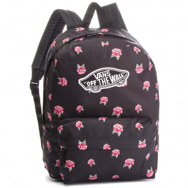 Backpack VANS - Realm Backpack VN0A3UI6RDU Black Rose - Notebook ... d08b6ba66f7