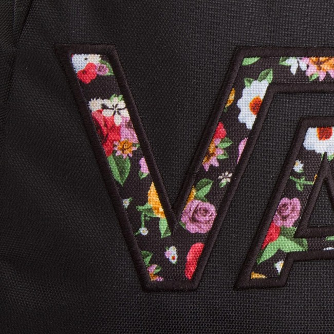 14dd1d90fd Backpack VANS - Realm Flying V VN0A3UI8YGL Black Mixed - Sports bags ...