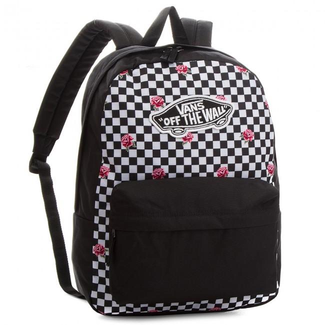 0af4d8163dc3 Backpack VANS - Realm Backpack VN0A3UI6YFK Rose Checker - Notebook ...