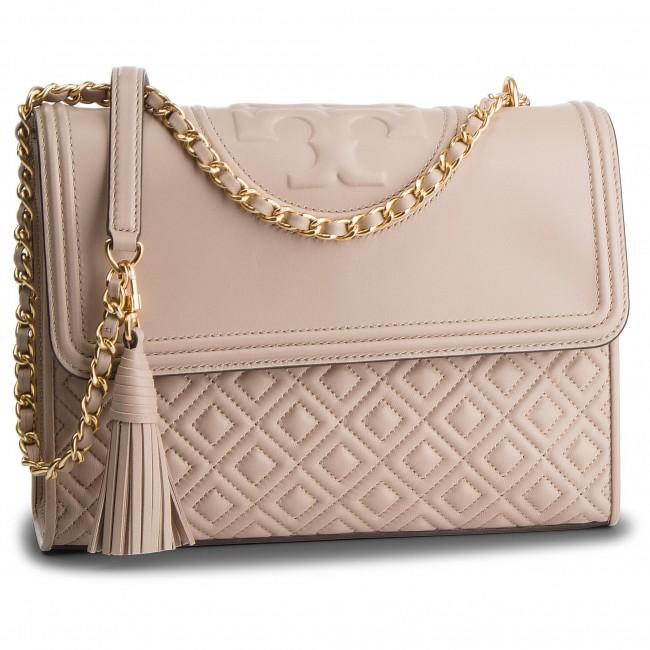 bcab9f2c9f3f Handbag TORY BURCH - Fleming Convertible Shoulder Bag 43833 Light Taupe 268