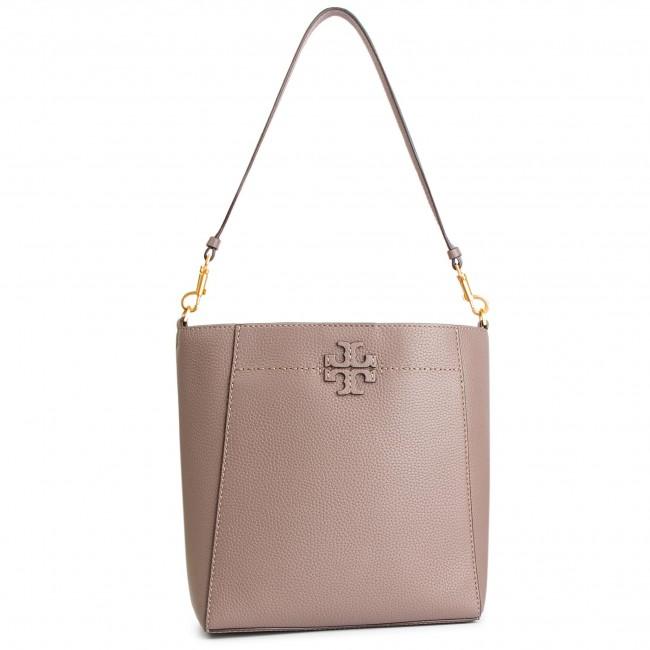 680bdf015606 Handbag TORY BURCH - Mcgraw Hobo 51063 Silver Maple 963 - Classic ...