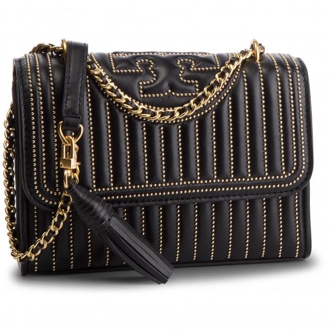 26413ff1a97d Handbag TORY BURCH - Fleming Mini Stud Small Convertible Shoulder Bag 52310  Black 001