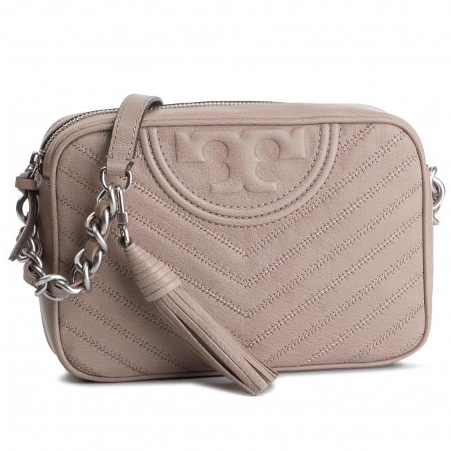 09e4753c2298 Handbag TORY BURCH - Fleming Distressed Chevron Camera Bag 54275 ...