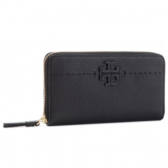 83148de7c19 Large Women s Wallet TORY BURCH - McGraw Zip Continental Wallet ...