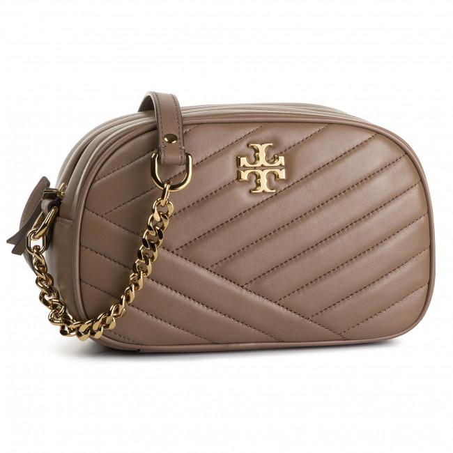 aebf3f6ba3f94 Handbag TORY BURCH - Kira Chevron Camera Bag 60236 Classic Taupe 250 ...