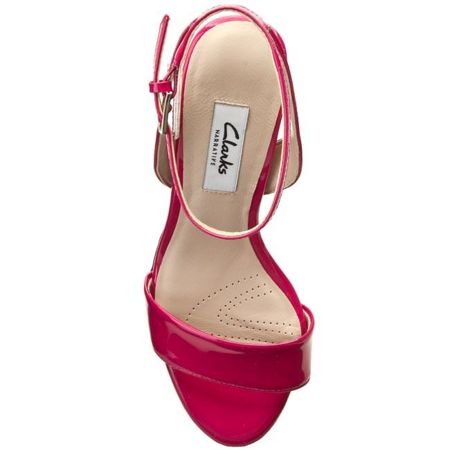 003b8ed2 Sandals CLARKS - Amali Jewel 261146224 Fuchsia