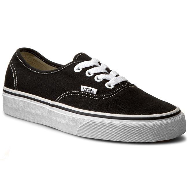 ae22f5bd677710 Plimsolls VANS - Authentic VN-0 EE3BLK Black - Sneakers - Low shoes ...