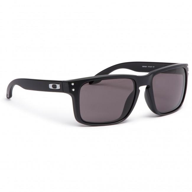 Sunglasses OAKLEY - Holbrook OO9102-01 Matte Black Warm Grey - Men s ... a49bc100d4