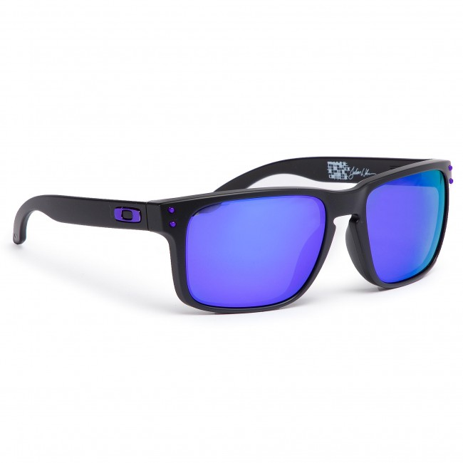 31e4cd1770 Sunglasses OAKLEY - Holbrook OO9102-26 Matte Black Violet Iridium ...