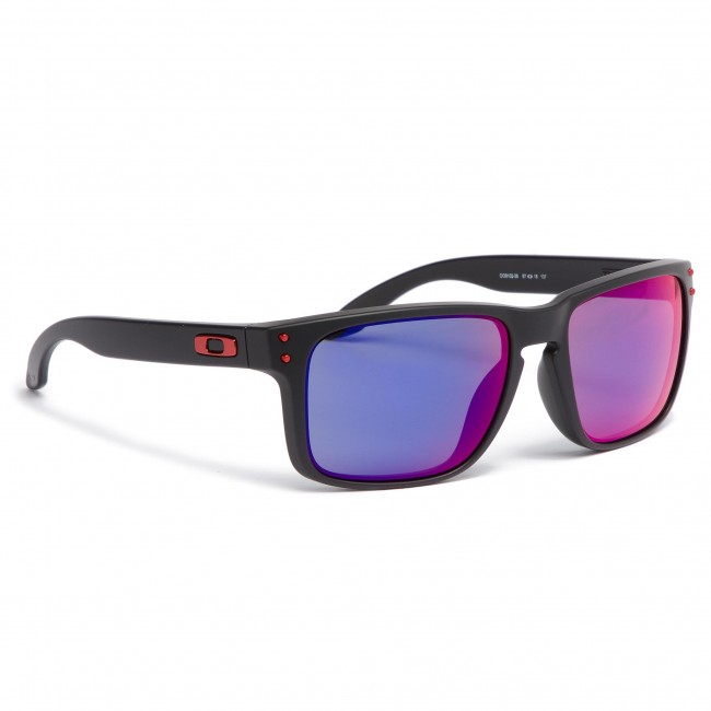 67aa6cec44 Sunglasses OAKLEY - Holbrook OO9102-36 Matte Black Red Iridium ...