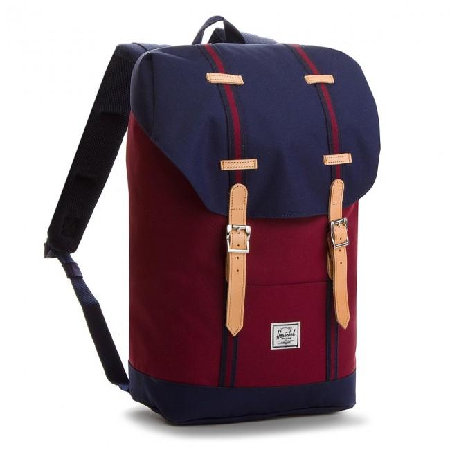 3b284e2366 Backpack HERSCHEL - Retreat M 10329-00001 Wine Peacoat - Sports bags ...
