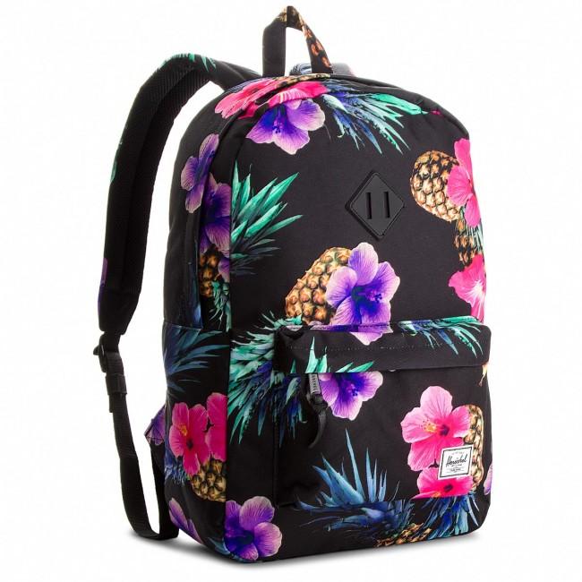 Backpack HERSCHEL - Heritage 10007-01852 Black Pineapple Black Rubber 2213d9a68f16d