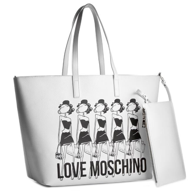 Handbag LOVE MOSCHINO - JC4308PP01KT0100 Bianco