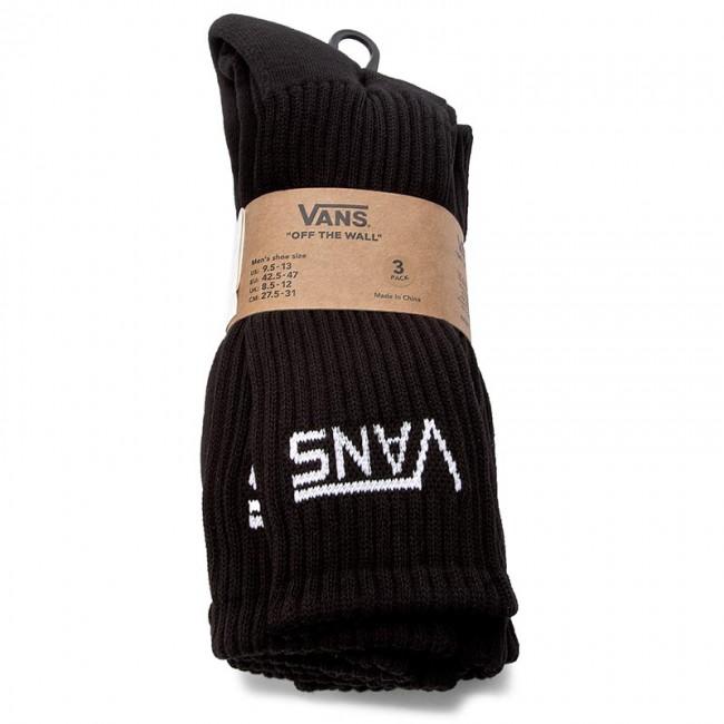5978ce35a3 3 Pairs of Men s High Socks VANS - Mn Classic Crew 9.5 VN000XSEBLK Black