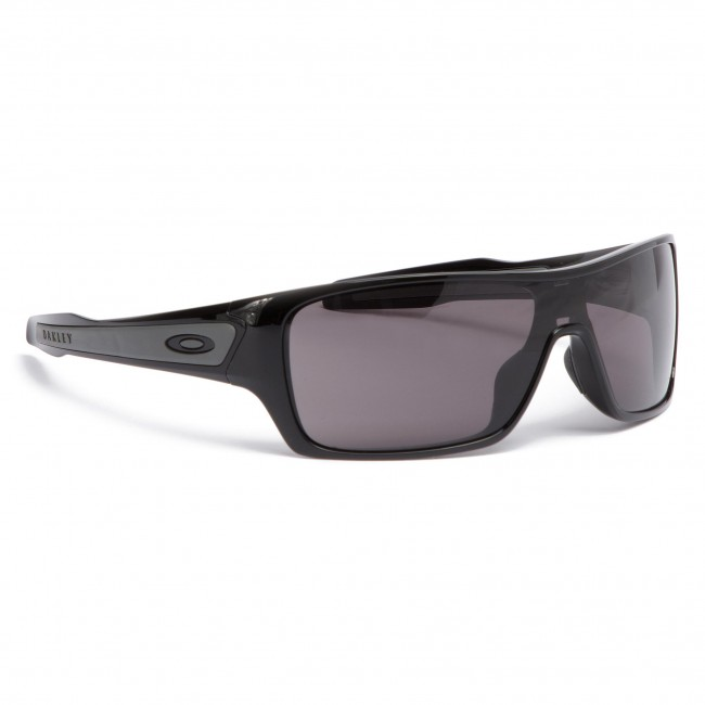 011055dec609 Sunglasses OAKLEY - Turbine Rotor OO9307-01 Polished Black/Warm Grey ...