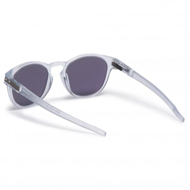 13de4a522fe7d Sunglasses OAKLEY - Latch OO9265-13 Matte Clear Jade Iridium - Men s ...