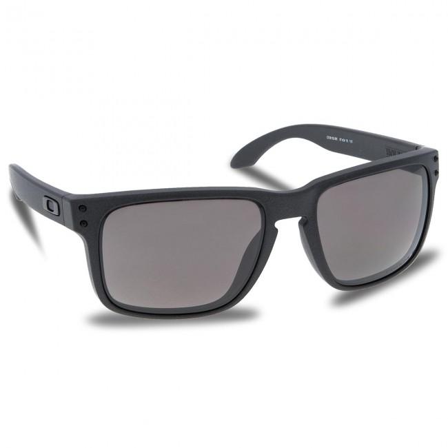 f7c7346f2cc0c Sunglasses OAKLEY - Holbrook OO9102-B5 Steel Prizm Daily Polarized ...
