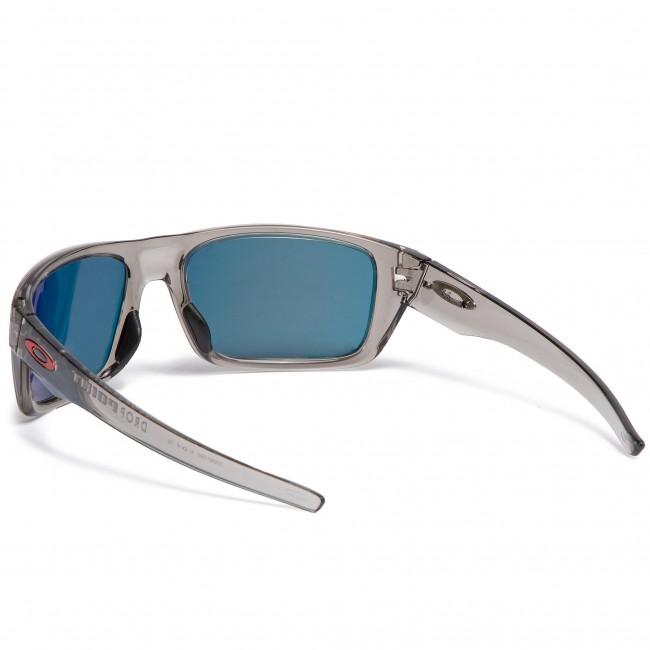 06f2ddebeda Sunglasses OAKLEY - Drop Point OO9367-0360 Grey Ink Ruby Iridium ...