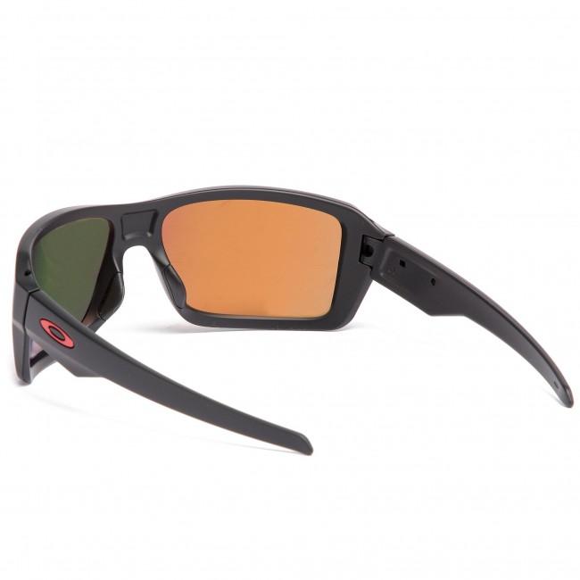 45603676094ec Sunglasses OAKLEY - Double Edge OO9380-0566 Matte Black Prizm Ruby Polarized