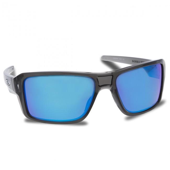 Sunglasses OAKLEY - Double Edge OO9380-0666 Grey Smoke Prizm Sapphire  Polarized af4b3c99d3