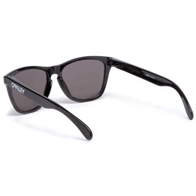 169e37e451 Sunglasses OAKLEY - Frogskins OO9013-C455 Polished Black Prizm Black Iridium
