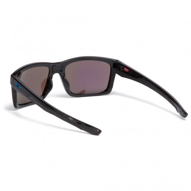 fb8e9c9c65e Sunglasses OAKLEY - Mainlink OO9264-3057 Polished Black Prizm Sapphire  Iridium