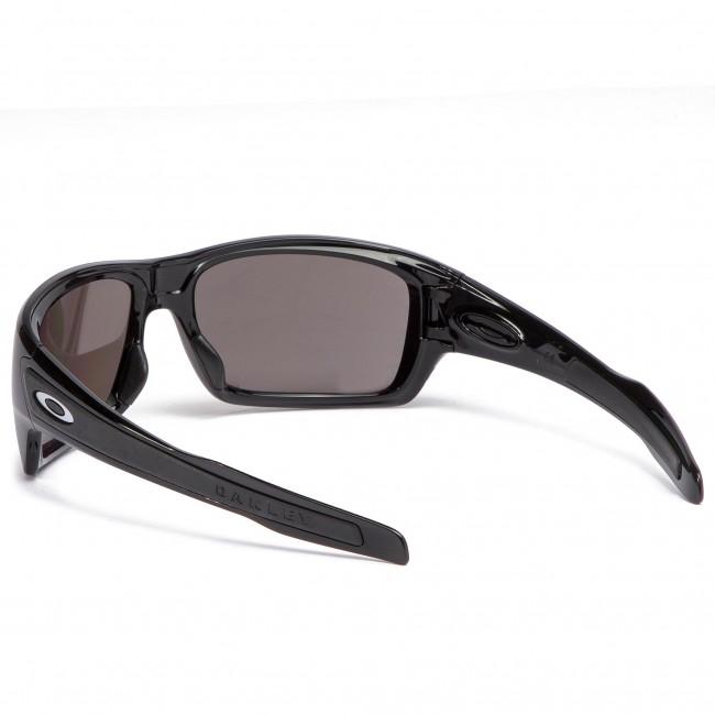 9fd4b04628 Sunglasses OAKLEY - Turbine OO9263-4163 Polished Black Prizm Black Polarized