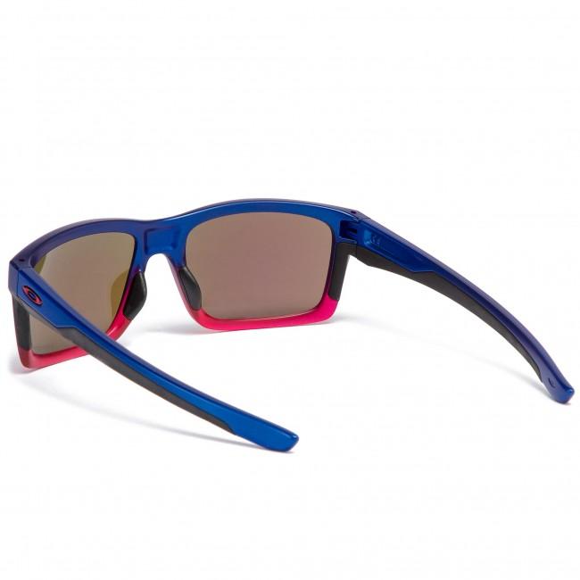 0f02e51bc01 Sunglasses OAKLEY - Mainlink OO9264-3257 Blue Pop Fade Prizm Sapphire  Iridium