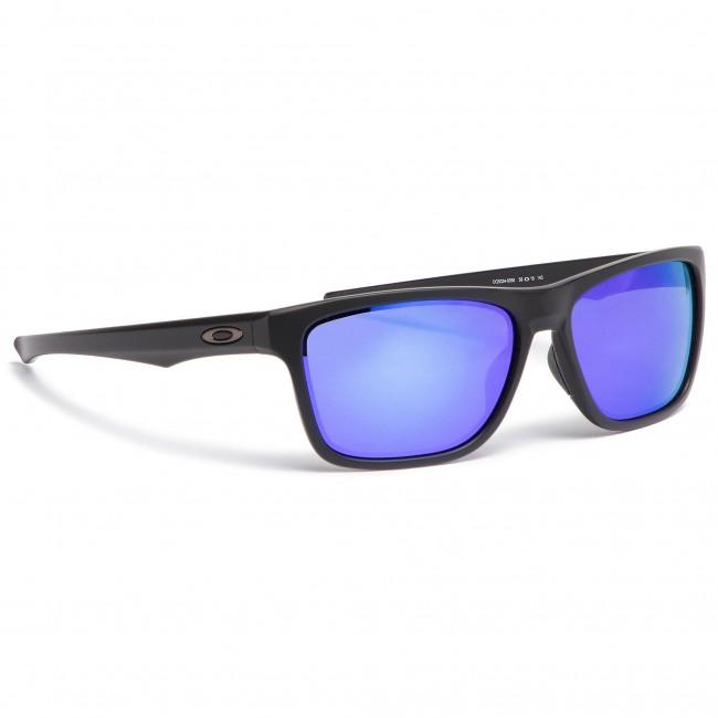 4f68e7454be Sunglasses OAKLEY - Holston OO9334-0958 Matte Black Violet Iridium ...