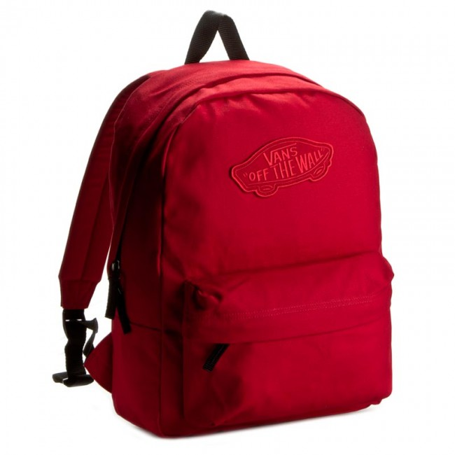 Backpack VANS - Realm Backpack VN000NZ014A Red - Sports bags and ... 8d2953b54b