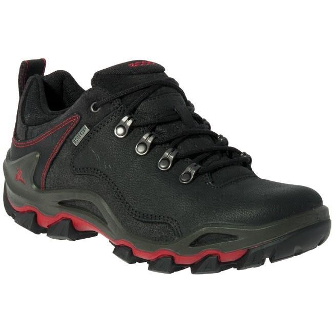 eb2379f87086 Shoes ECCO - TERRA VG Dhaka Lo GTX Black - Trekker boots - Low shoes ...